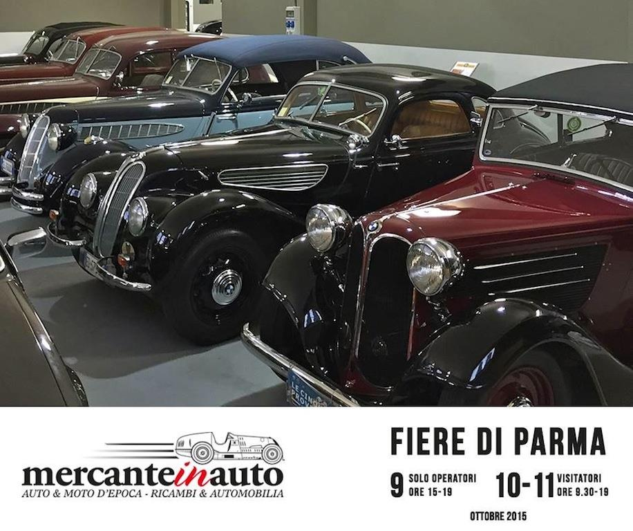 Old cars collection a Mercanteinauto