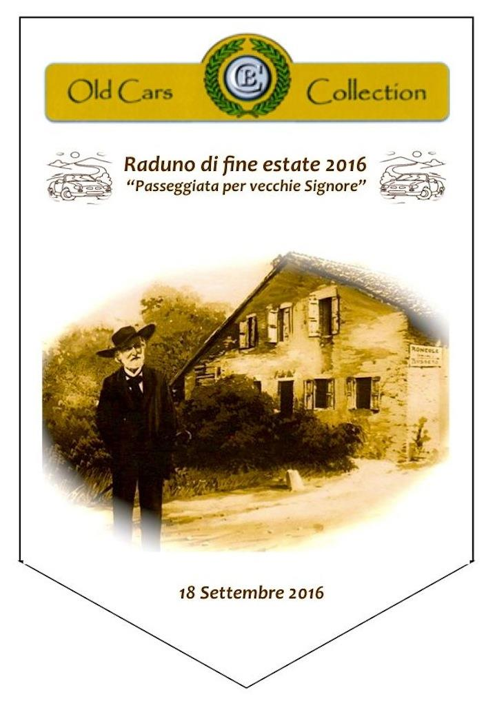 Raduno di fine estate 2016